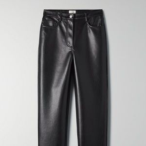 ARITZIA Melina Pant Black Size 10 Regular Length